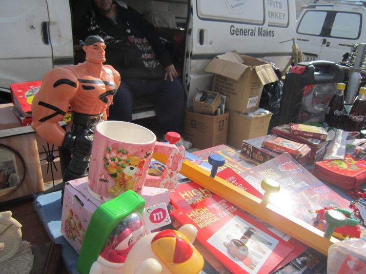 Joy of junk: the Birgu market.