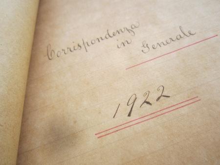 General Correspondence 1922-1925