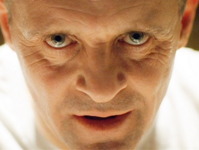 Anthony Hopkins as Hannibal Lecter in Silence of the Lambs (1991)