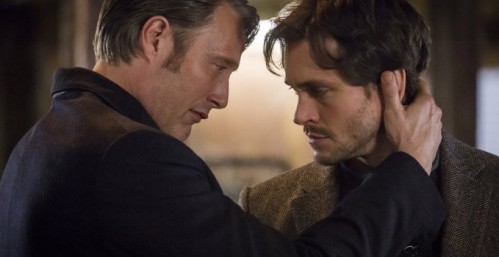 Becoming: Mads Mikkelsen as Hannibal and Hugh Dancy as Will Graham
