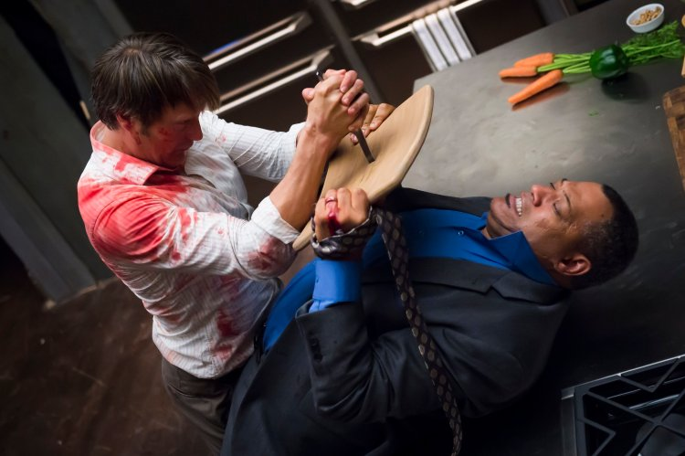Not a spoiler: In a typically bold move, the first episode of the second season of NBC's Hannibal opens with a far-reaching and action-packed flash-forward