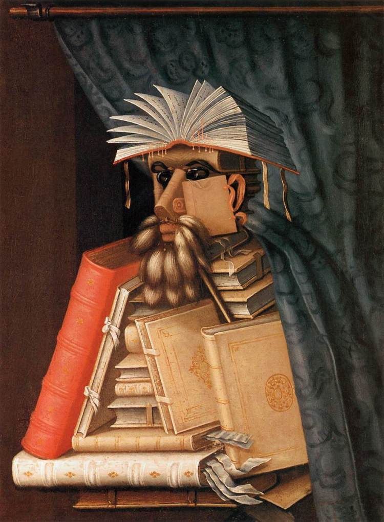 The Librarian by Giuseppe Arcimboldo (c. 1570). Source: Wikipedia
