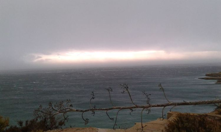Eye of the storm: M'Scala, Malta, 05/10/14