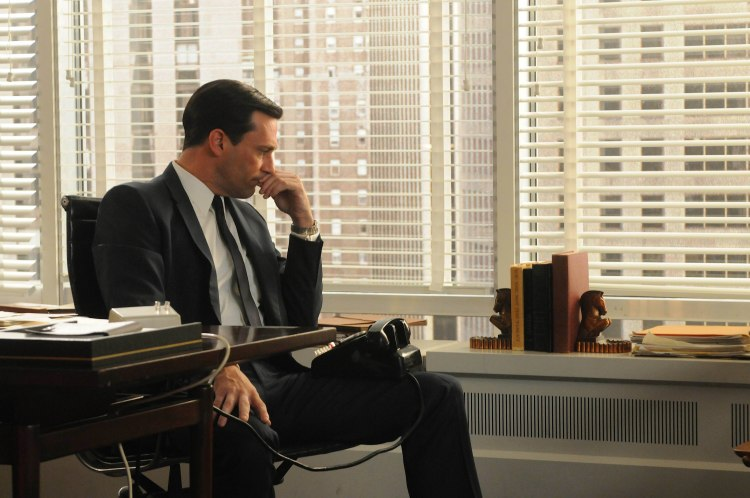 John Hamm as Don Draper in Mad Men