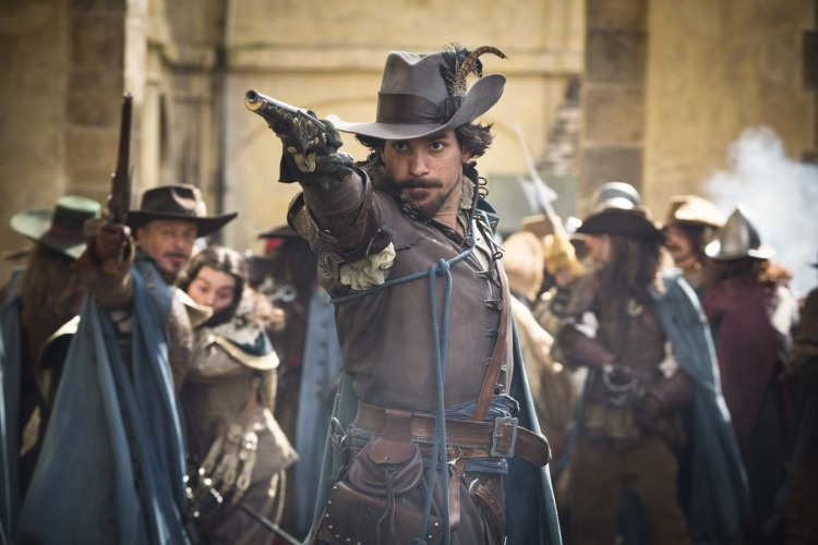 Santiago Cabrera as Aramis in The Musketeers