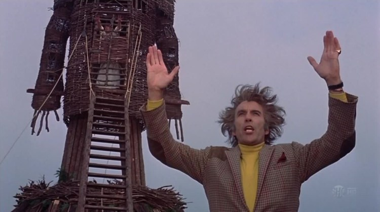 Prelude to a Burning: Christopher Lee as Lord Summerisle in The Wicker Man (1973)