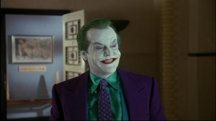 Jack Nicholson at The Joker in Batman (1989)
