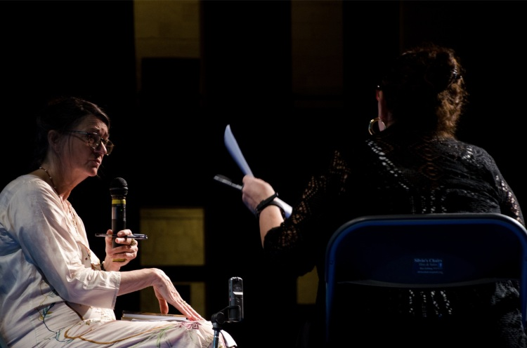 Marina Warner in conversation with Gloria Lauri-Lucente, Valletta, 29 August 2015