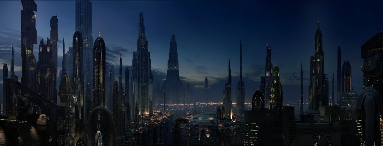 There is something morbidly fascinating about Coruscant - the seat of the Galactic Empire in the Star Wars movies. But do we really want something like this to overtake our 'real' world?