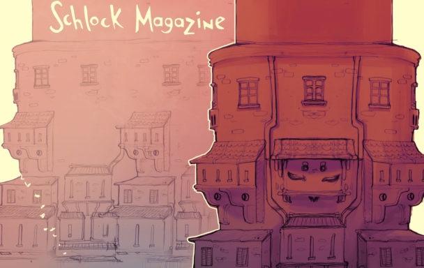 Schlock Magazine, Utopia Issue (June 2016), Cover (detail) –Daniela Attard
