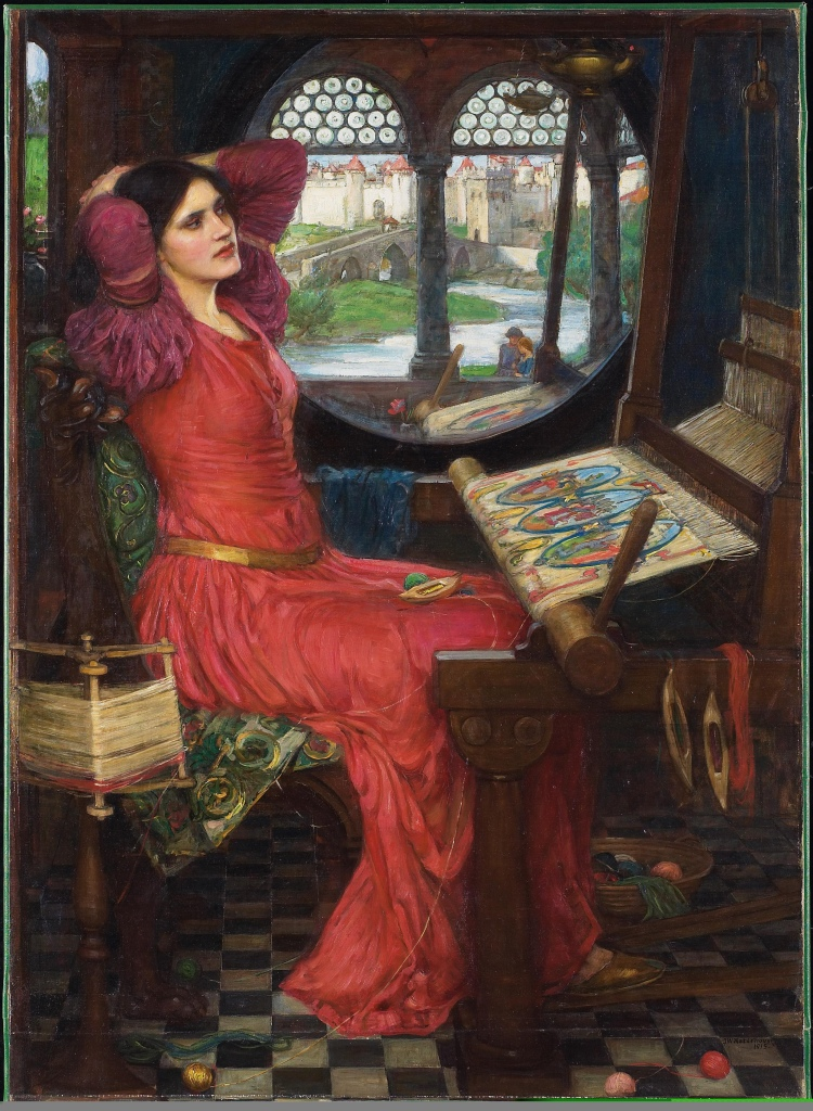 """I Am Half-Sick of Shadows"", Said The Lady of Shalott by John Willam Waterhouse"