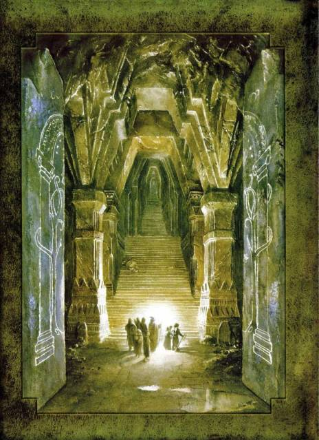 Moria by Alan Lee