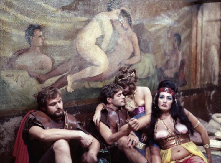 Still from Fellini Satyricon (1969)