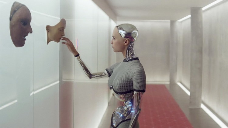 Unpeeling the truth: Alicia Vikander as Ava in Ex Machina (2015)