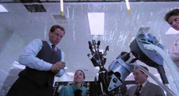 It's alive? The 'birth' scene from Paul Verhoeven's Robocop (1987)
