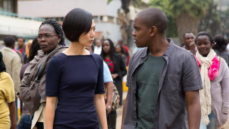 Worlds apart: Doona Bae and Aml Ameen