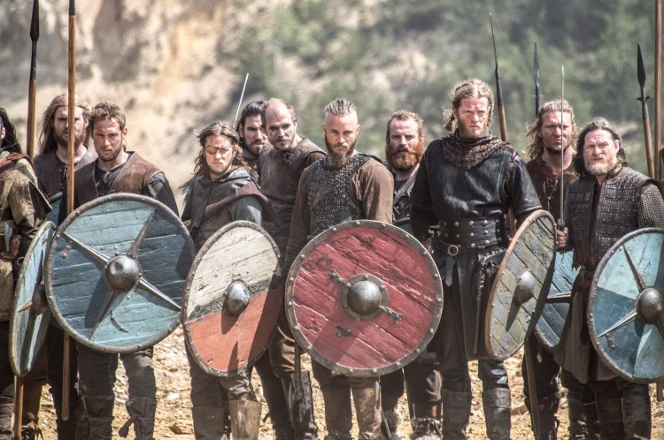 Standing tall: Still from Vikings (The History Channel)