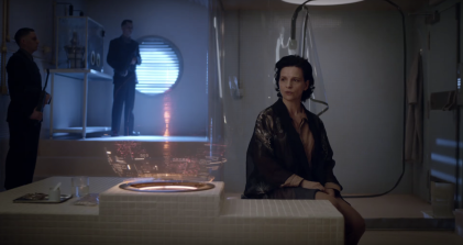 Juliette Binoche in Ghost in the Shell (2017), dir. Rupert Sanders