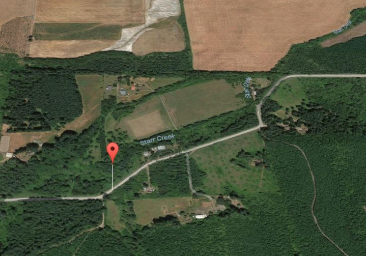 Starr Creek Map